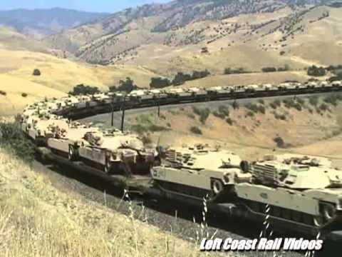 Tehachapi Pass-Military Tank