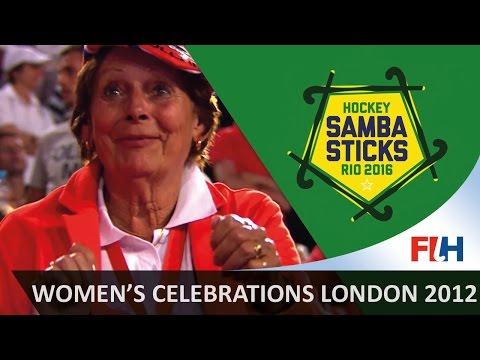 Women's Best Celebrations - London 2012