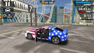 American Flaged Camero Gameplay | Car Driving Simulator - Stunt Ramp #3 | Android Mobile Gameplay