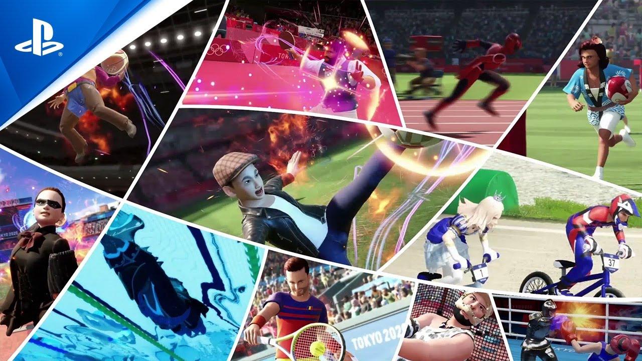Jeux Olympiques de Tokyo2020: le jeu vidéo officiel - Bande-annonce de lancement | PS4