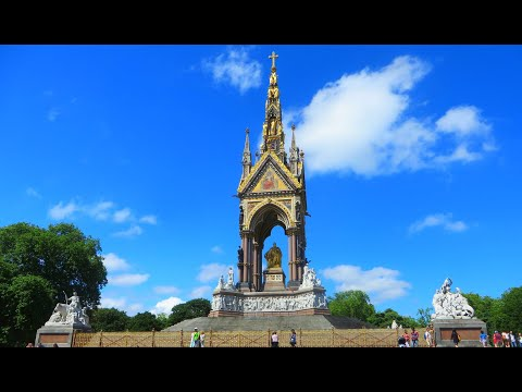 London, U.K. - The Albert Memorial in Kensington Gardens