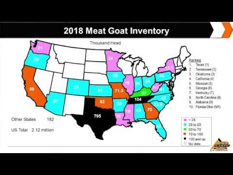 2018 USDA Goat Inventory and Market Outlook