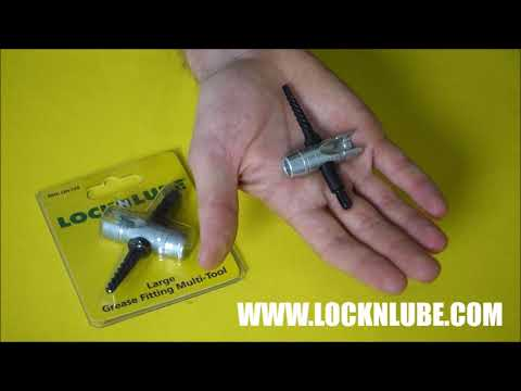 Easy out grease fitting tool from LockNLube