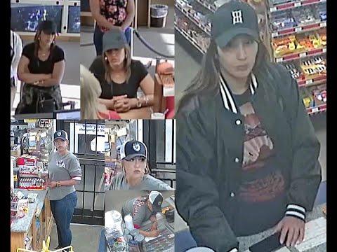 Caught On Camera, Couple Of Crooks Cashing Counterfeit Checks