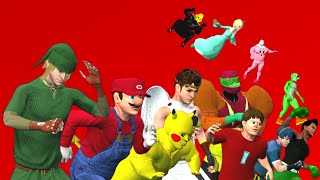WWE Super Smash Bros. for 3DS/Wii U  FINAL 『CAW』