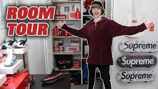 EPIC Hypebeast Room Tour Update! Supreme, Off-White Collection