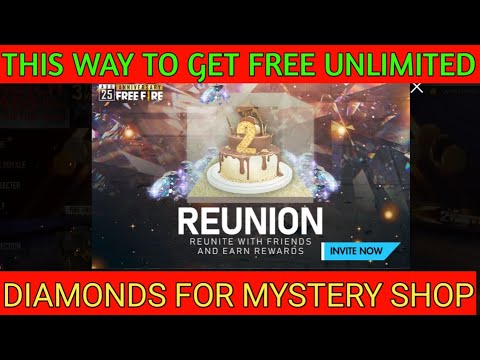 Reunion Event Get Free Diamonds || Free Diamonds For Mystery Shop \ FREE FIRE