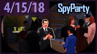 SPY PARTY (w/ Octopimp!) ⫽ BarryIsStreaming