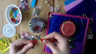 как сделать книжку из ткани своими руками