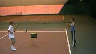 Анжелика Балюк - проведение тренировки (часть2)