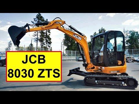 Обзор мини-экскаватора JCB 8030 ZTS