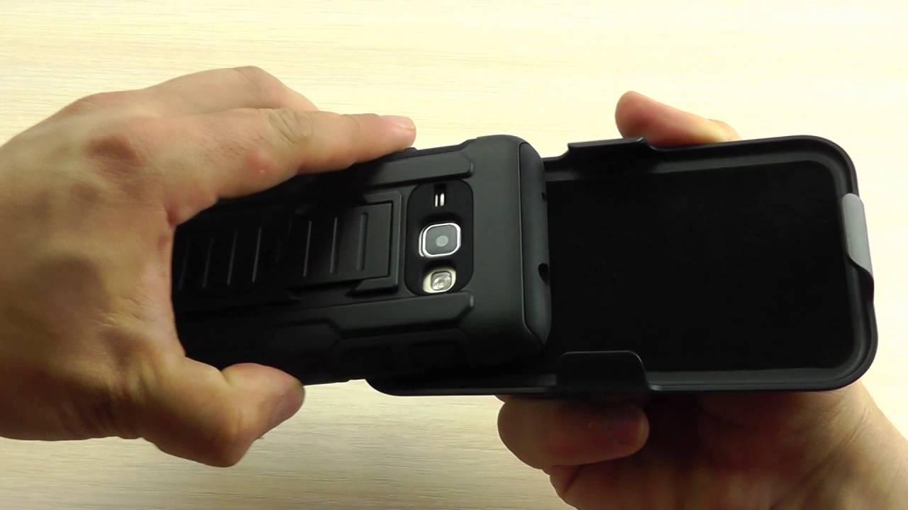 ОБЗОР: Противоударный Чехол-Накладка для Samsung Galaxy J1 (J120 .