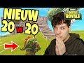 *NIEUW* 20 VS 20 GAME MODE?!👵 | Fortnite Battle Royale (Fortnite Nederlands)