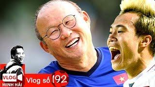HLV Park Hang Seo mạo hiểm & Văn Toàn thú nhận trước bàn thắng hạ Syria | Vlog Minh Hải