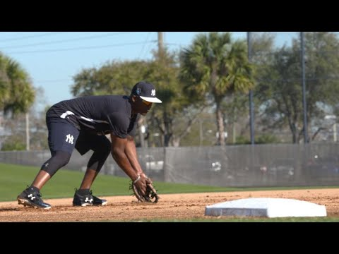 Sights and Sounds: Yankees infielders at work