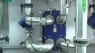 Открытие газовой котельной в Санаторном