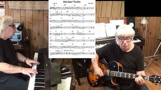 Mad About Boy - Jazz guitar & piano cover ( Noel Coward )