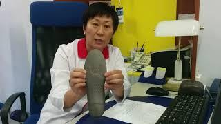 Видеообзор врача: специальные ортопедические стельки при «косточках» на ногах (Hallux Valgus)