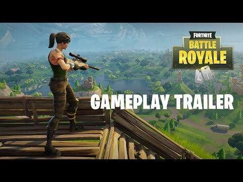 Fortnite Battle Royale – Gameplay-Trailer (Modus ab 26. September kostenlos verfügbar!)