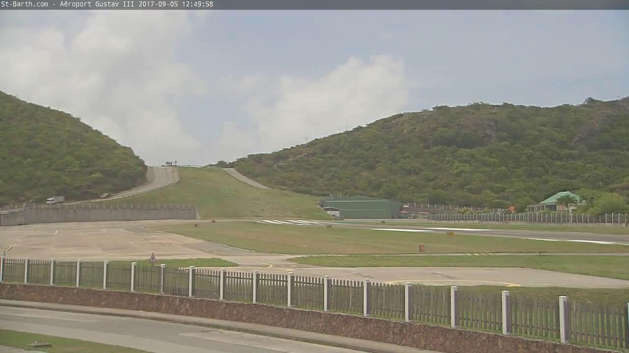 Time-lapse St-Barth - Irma - Gustav III et le Col de la Tourmente ...