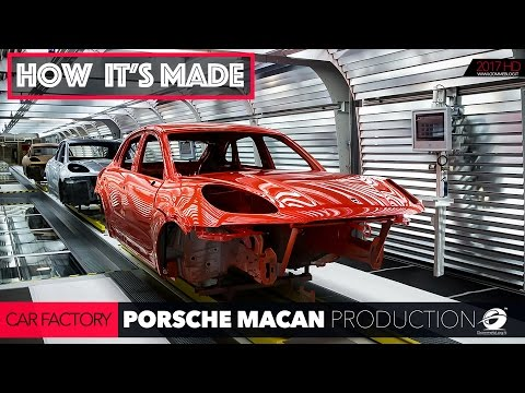 CAR FACTORY: Porsche Macan Production Plant HOW IT