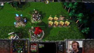 2v4 - Budi und ich kämpfen! -  Warcraft 3