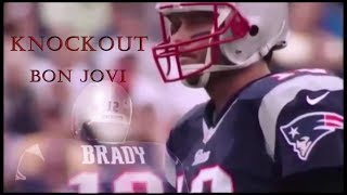 Bon Jovi Knockout Lyrics With Super Bowl LI Action