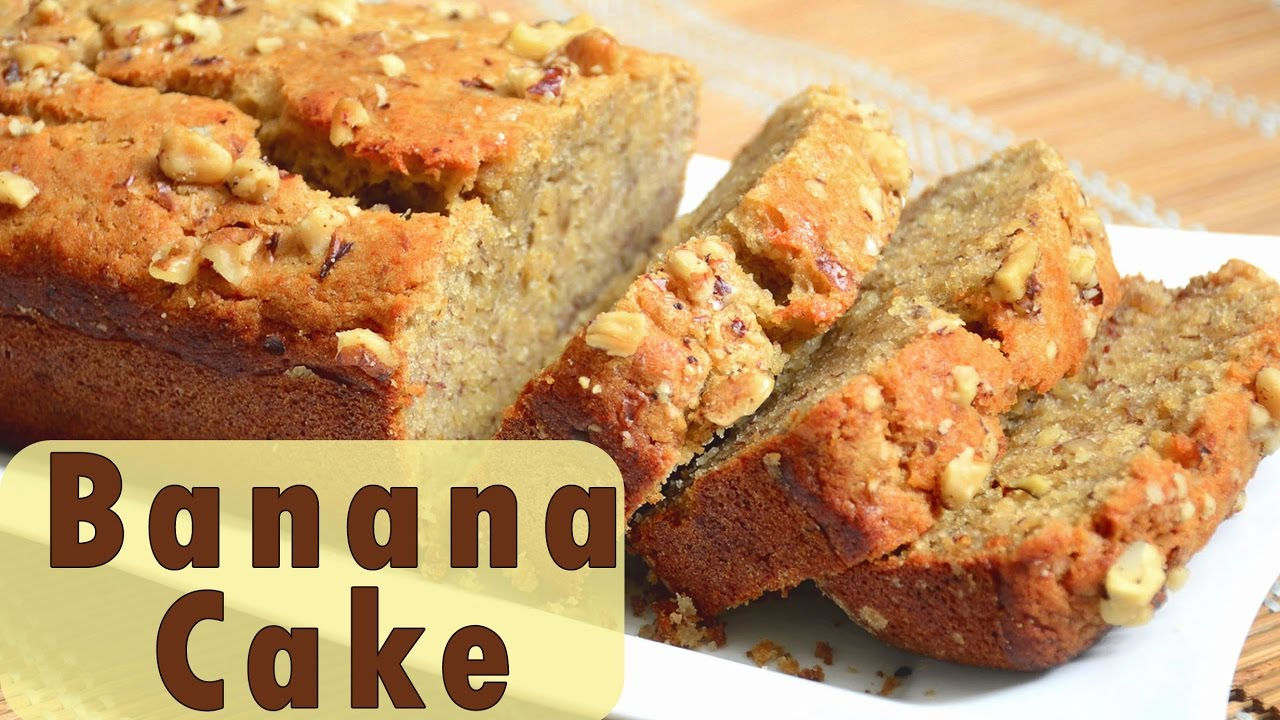 Eggless Banana Bread Recipe Youtube