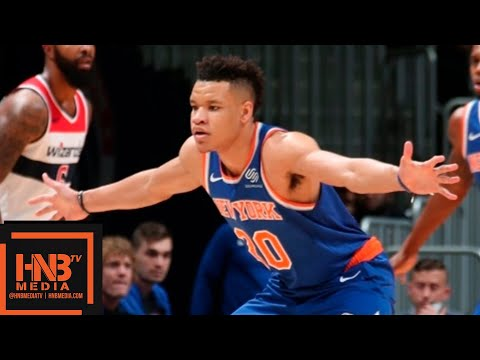 New York Knicks vs Washington Wizards Full Game Highlights | 01.10.2018, NBA Preseason