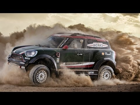 MINI John Cooper Works Rally. Dakar Rally 2018