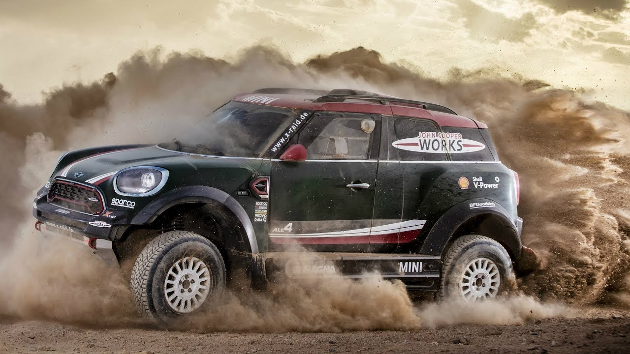 mini john cooper works rally dakar rally 2018 youtube. Black Bedroom Furniture Sets. Home Design Ideas