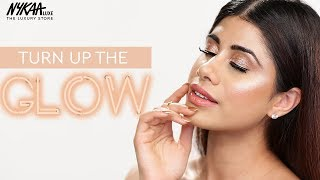 How To Get The Perfect Day Time Glow Using High End Makeup Products Ft. Malvika Sitlani   Nykaa