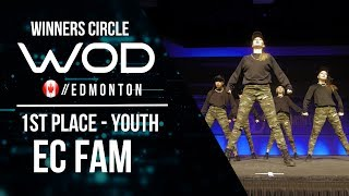 EC FAM | 1st Place Youth | Winner's Circle | World of Dance Edmonton Qualifier 2017 | #WODEDM17