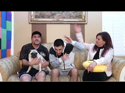 Who knows me better SHOCK CHALLENGE! (Mom vs Dad)