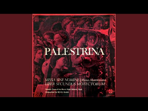 Missa sine nomine (Missa Mantovana) II. Gloria