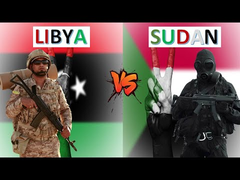 Libya vs Sudan Military Power Comparison 2021