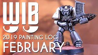 2019 Mini Painting Log: February
