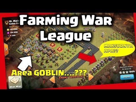 COC UNIK!! MAKSUDNYA APA SERUNYA DIMANA?? FARMING WAR LEAGUE 1945 .COC INDONESIA