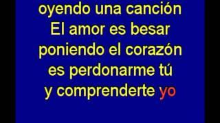 El Amor - Jose L Perales - karaoke Tony Ginzo