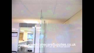 Vitra Neon Square Shower Bath and Screen