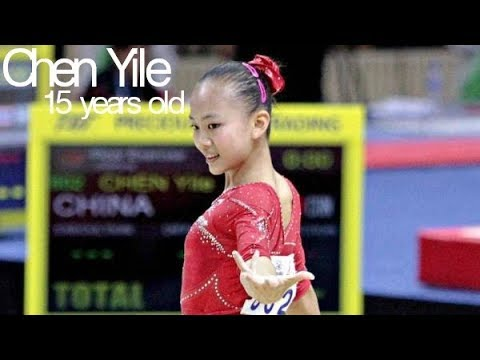 Chen Yile - Amazing 15 year old Chinese gymnast!