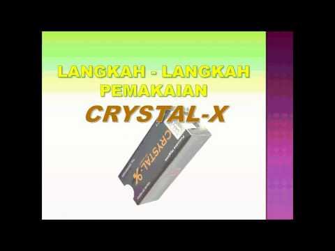 Video Cara Pemakaian Crystal X