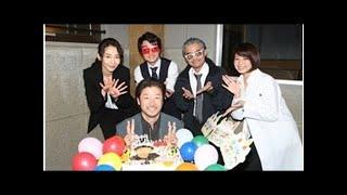 浅野忠信『刑事ゆがみ』現場で誕生日サプライズ「めちゃくちゃうれしい!」