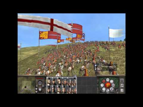 Random fight with Scotland in Medieval 2 Total War  