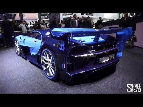 Highlights of Frankfurt Motorshow 2015 - Vision GT, Bentayga