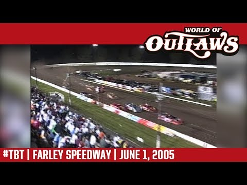World of Outlaws Craftsman Late Models Farley Speedway June 1, 2005 | #ThrowbackThursday