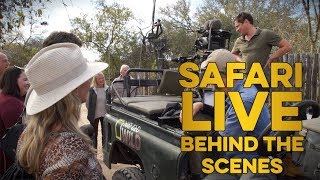 safariLIVE crew meets you: Dawn and Holly hangout at the safariLIVE camp!