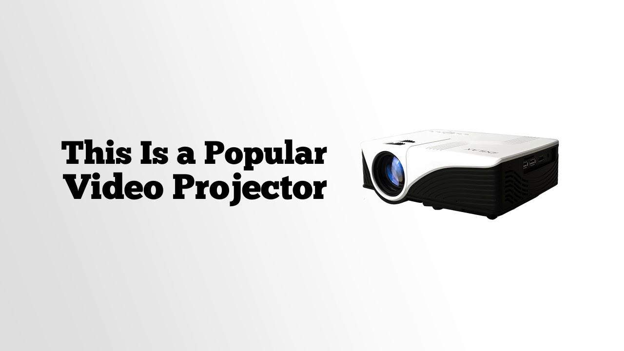 Idglax Idg 787w Lcd Led Video Multimedia Projector Youtube