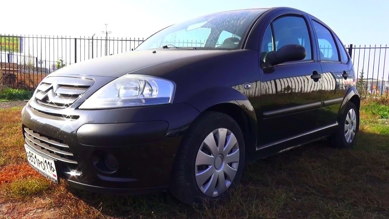 2008 citroen c3 start up engine and in depth tour youtube. Black Bedroom Furniture Sets. Home Design Ideas