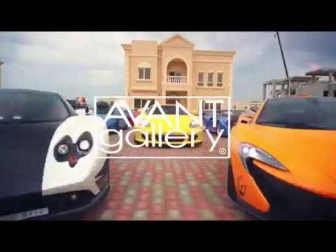 Avant Gallery Alec Monopoly The Art of Grand Prix Abu Dhabi Dubai